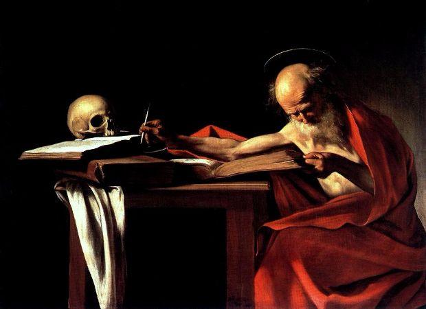 Caravaggio, Saint Jerome, 1606