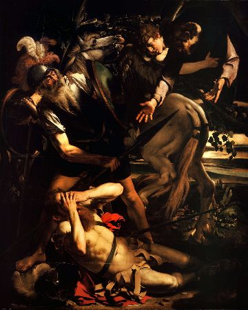 Caravaggio, The Conversion of Saint Paul, 1600-1602