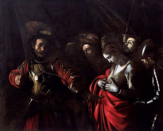 Caravaggio, The Martyrdom of Saint Ursula, 1610