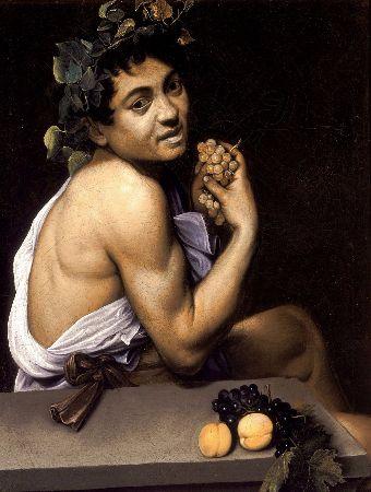 Caravaggio, Young Sick Bacchus