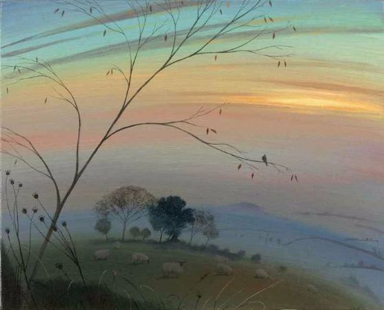 Nicholas Hely Hutchinson, Autumn Evening Over The Blackmore Vale