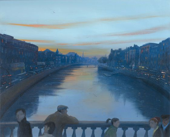 Nicholas Hely Hutchinson, Evening On O'Connell Bridge