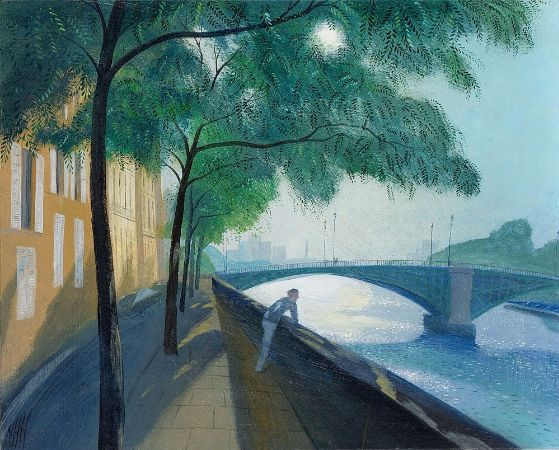 Nicholas Hely Hutchinson, Morning By The Seine