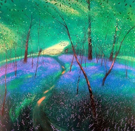 Nicholas Hely Hutchinson, The Bluebell Wood