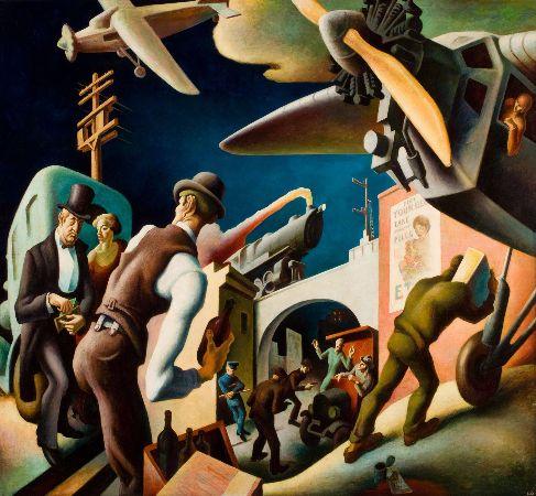 Thomas Hart Benton, Bootleggers, 1927