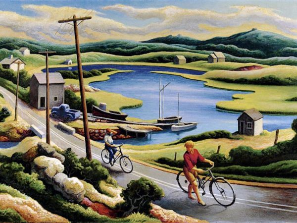 Thomas Hart Benton, Martha's Vineyard