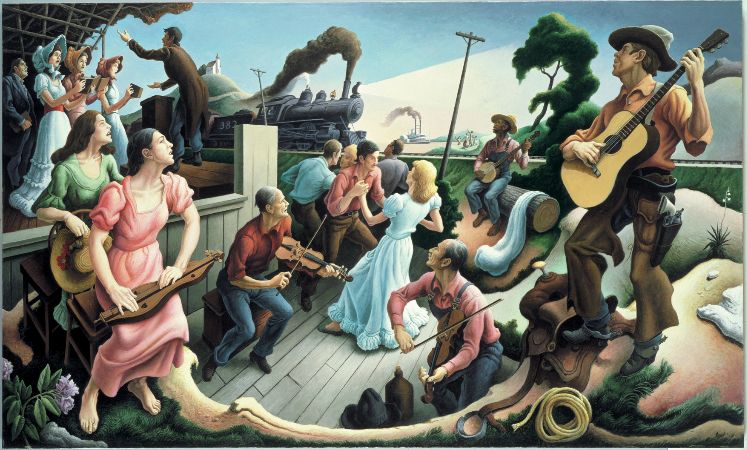 Thomas Hart Benton, Sources of Country Music, 1975