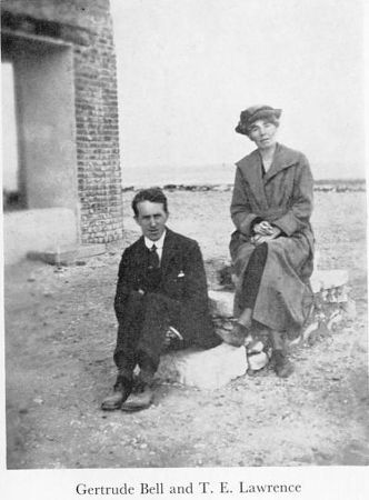 gertrude bell ve t.e lawrence