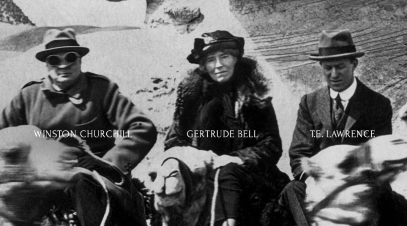 gerturde bell ve t.e lawrence