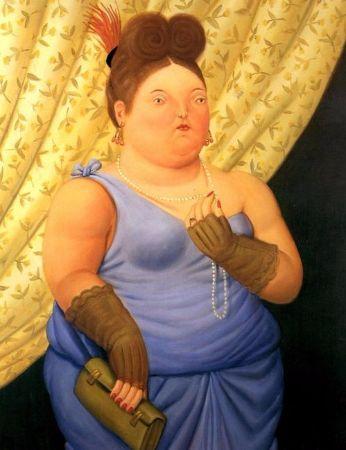 Fernando Botero, Society Lady, 1997