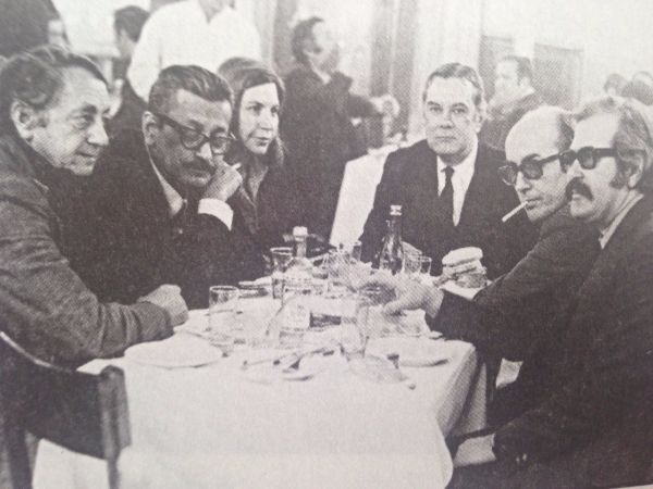 İlhan Berk, Metin Eloglu, Mir Eloglu, Sabahattin Kudret Aksal, Edip Cansever