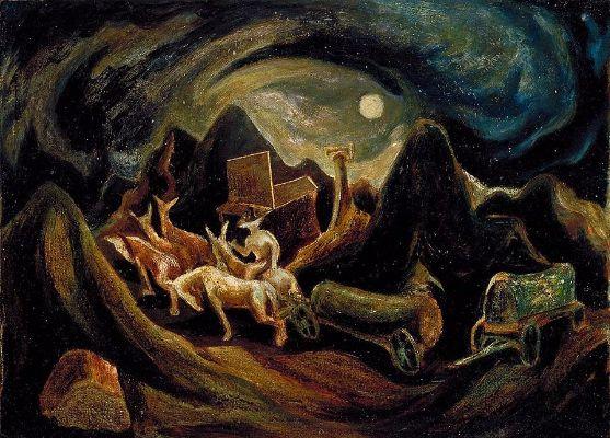Jackson Pollock, Going West, 1934