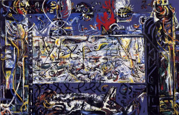 Jackson Pollock, Guardians Of The Secret, 1945