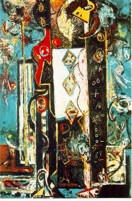 Jackson Pollock, Male and Female, 1942