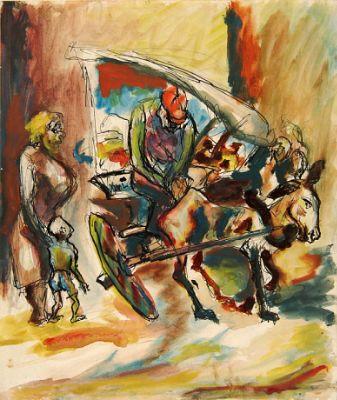 Jackson Pollock, Peddler, 1930-35