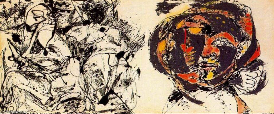 Jackson Pollock, Portrait and a Dream, 1953