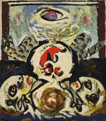 Jackson Pollock, The Bird, 1941