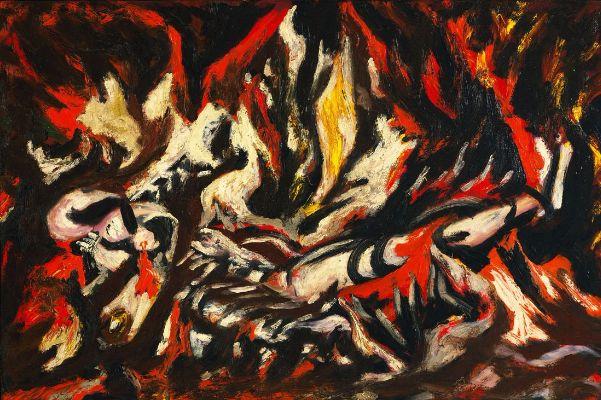 Jackson Pollock, The Flame, 1938