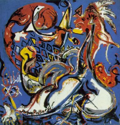 Jackson Pollock, The Moon-Woman Cuts The Circle, 1943