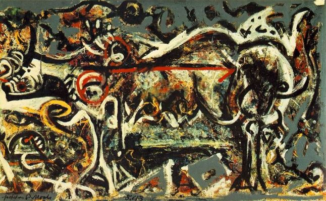 Jackson Pollock, The She-Wolf, 1943