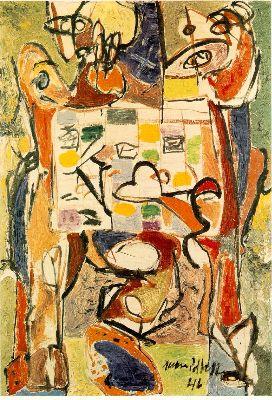 Jackson Pollock, The Tea Cup, 1946