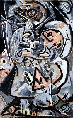 Jackson Pollock, Totem Lesson I, 1944