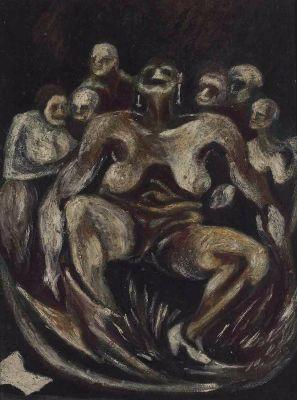 Jackson Pollock, Woman, 1930-33