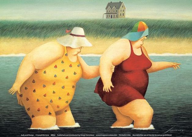 Lowell Herrero, Judy and Marge