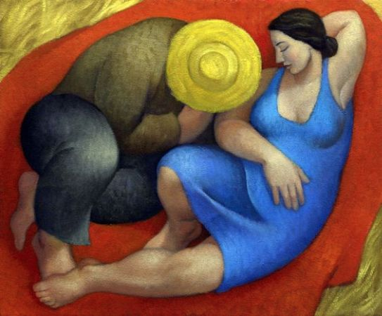 Margarita Sikorskaia, Sleeping Couple