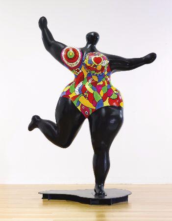 Niki de Saint Phalle, Black Standing Nana, 1995
