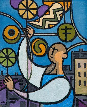 Nurullah Berk, Penceredeki Adam, 1959