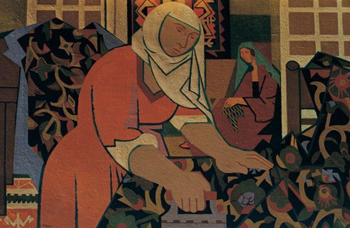 Nurullah Berk, Utu Yapan Kadin, 1950