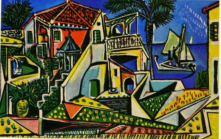 Pablo Picasso, Mediterranean Landscape, 1952