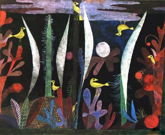 Paul Klee, Landscape With Yellow Birds, 1923