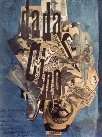 Raoul Hausmann, Dada Cino, 1920