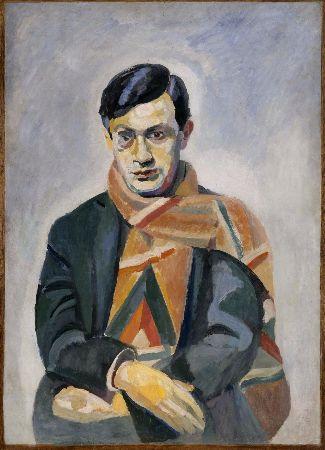 Robert Delaunay, Portrait ofTristan Tzara