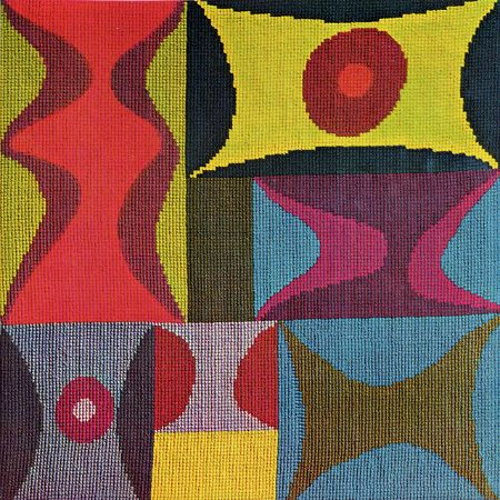 Sophie Taeuber-Arp, Elementary Forms, 1917
