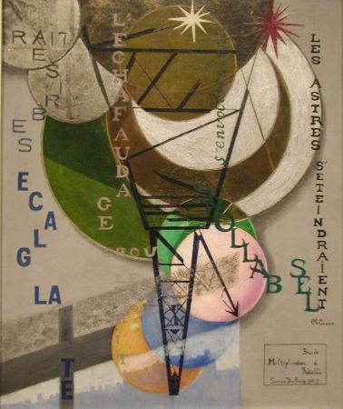 Suzanne Duchamp, Broken and Restored Multiplication, 1919