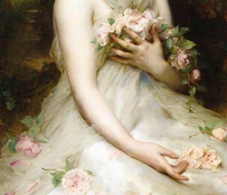 Adolphe Etienne Piot, Jeune Femme