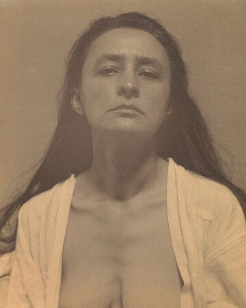 Alfred Stieglitz'in Georgia O'Keeffe fotografi, 1918