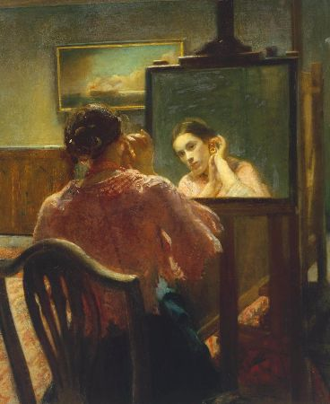 Ambrose McEvoy, The Earring Exhibited, 1911