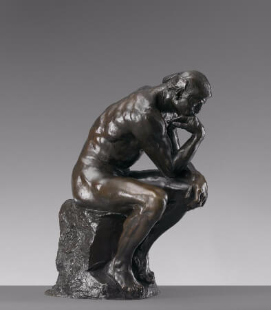 Auguste Rodin, The Thinker, 1882