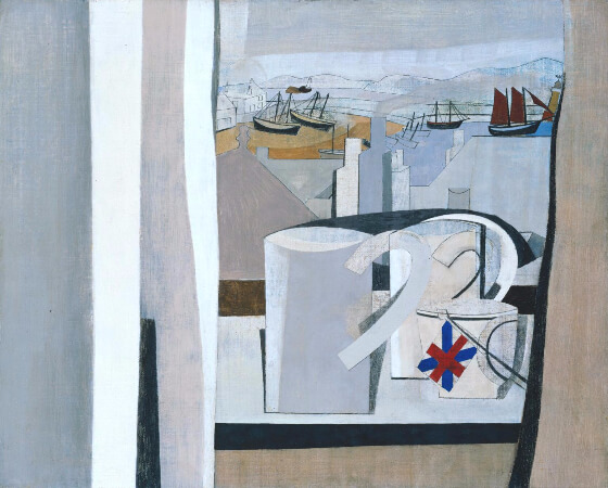 Ben Nicholson, St. Ives, Cornwall, 1943-1945