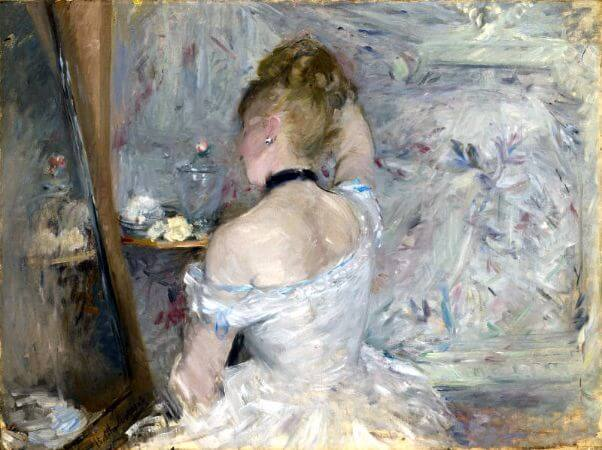 Berthe Morisot, Woman At Her Toilette, 1875-80