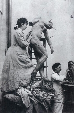 Camille Claudel Atolyede, 1885-87