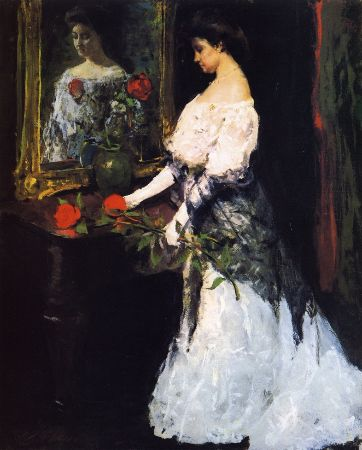 Charles Hawthorne, Before The Ball, 1909