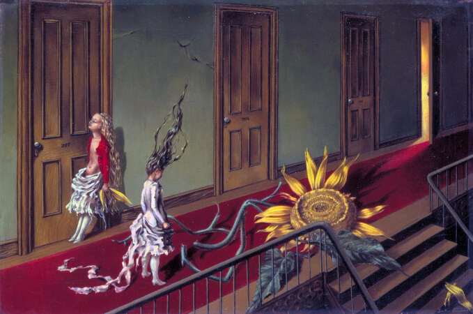 Dorothea Tanning, A Little Night Music, 1943