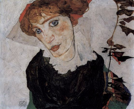 Egon Schiele, Portrait of Wally, 1912