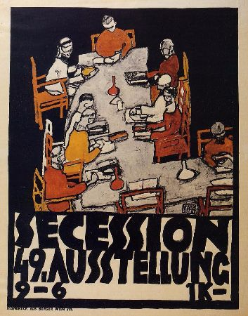 Egon Schiele, Poster For The Vienna Secession, 1918Poster For The Vienna Secession, 1918
