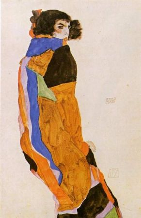 Egon Schiele, The Dancer Moa, 1911